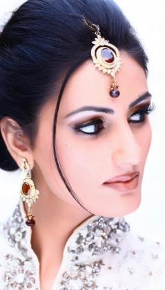 asian-bridal-makeup-engagement and nikah