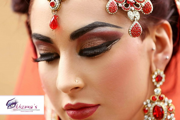 asian-bridal-makeup-red
