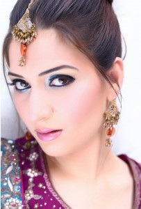 Pakistani party makeup details