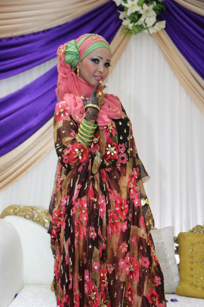 somali wedding clothes beautiful african bride in her