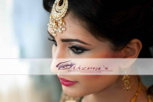 Persian Bride on her wedding day - beautiful bridal makeup and photography