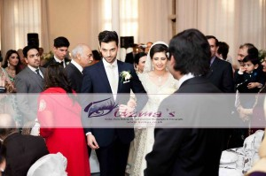 A Persian Bride with her Asian Husband - Persian Wedding Photography in UK