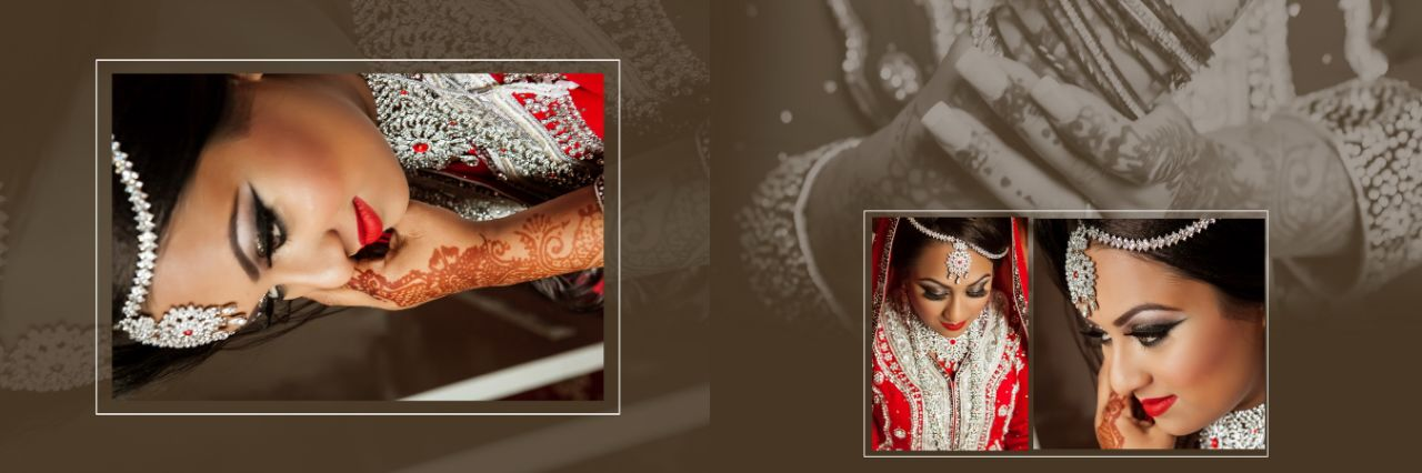 Asian Wedding Photography UK Album Layouts Post Function Production
