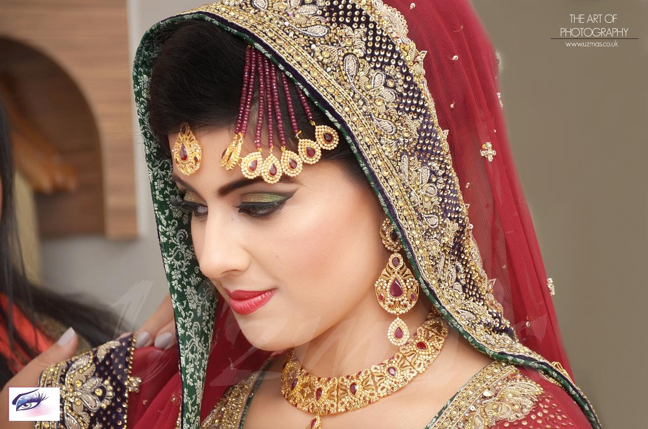 asian bridal makeup and wedding photography uk - uzmas