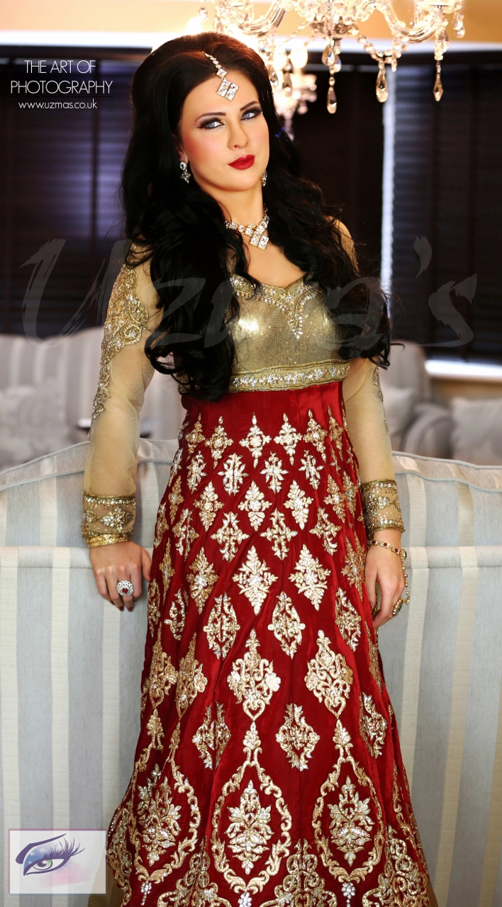 Asian Bridal Wedding Photoshoot UK 708x1280 - Asian Wedding Uk Magazine