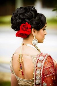Indian and Pakistani brides hair styles ideas for UK clients
